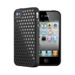Чехол SGP Case Modello Series Soul Black for iPhone 4/4S
